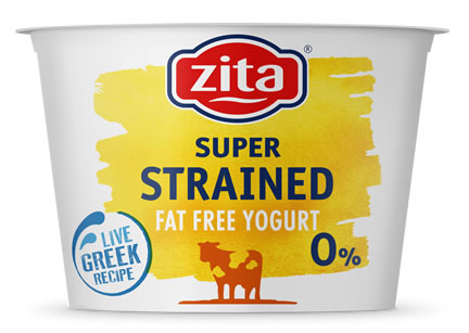 Strained Yogurt Fat Free